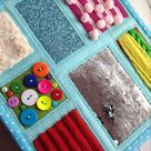Quiet book,busy board Autism,Fidget Sensory Toys,Toy Busy Activities mental disorders,Alzheimers Zipper For Special Needs,Montessory toy
