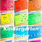 Kindergarten Binder Centers