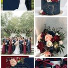 Top 8 Navy Blue Fall Wedding Color Combos
