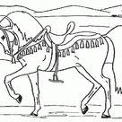 Malvorlagen Kostenlos Pferde