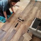 Installing Vinyl Floors - A Do It Yourself Guide - The Honeycomb Home