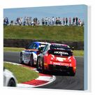 Box Canvas Print. CM9 7699 Sam Tordoff, BMW 125i M Sport, Gordon
