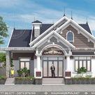 Nhà cấp 4 mái thái 3 phòng ngủ đẹp 11×11 ở Bắc Ninh M174 - Nhà đẹp vinahouse