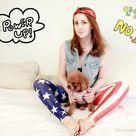 AMERICAN FLAG LEGGINGS Usa Printed Cool Leggings/ Sports pants/ Designed Leggings/ Women Stretch Leg