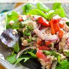 No Mayo Mediterranean Tuna Salad   The Foodie and The Fix