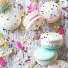 Cake Batter Macarons | Bakers Royale
