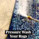 Pressure Wash Your Rugs!!!