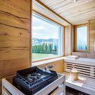 Bilder & Fotos von Saunas, Sauna mit Infrarotstrahler, Dampfbad