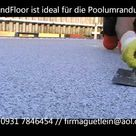 TrendFloor Steinteppich verlegen  Steinchenboden, Kieselboden zum selber verarbeiten