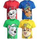 Paw Patrol 4 Pack Graphic Short Sleeve T-Shirt - 2T