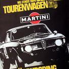 Original car racing poster Alfa Romeo GTA 1970 Grand   Nov 15, 2014   AntikBar Original Vintage Posters in United Kingdom
