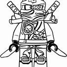 Ninjago Kai Printable Coloring Pages