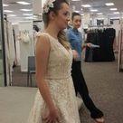 Melissa Sweet Wedding Dress with Plunging Neckline   David's Bridal