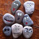 30 Best Painted Rock Faces Ideas