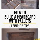 How To Build A Headboard From Pallets - 8 Simple Steps - The Saw Guy