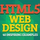 HTML5 Web Design: 40 Inspiring Examples | Website Designing | Graphic Design Blog