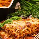 vegetarische Lasagne saftig und mit Linsenbolognese | einfaches Rezept | natalie-goes-tasty.de