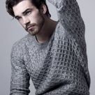 Mens Cable Knit Sweater