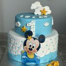 Mickey Mouse Baby Torte 🍼