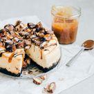 Twix cheesecake met OREO bodem - Uit Pauline's Keuken