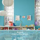 Sherwin-Williams' August Color of the Month: Surfin' SW 9048