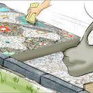 Anleitung: Mosaik im Garten legen - DAS HAUS