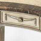 Vintage Style Kidney Shaped Writing Desk