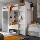 Cabin Bed Max with Wardrobe and Drawer