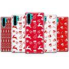 Christmas Phone case Holiday Pattern for Huawei P30 Pro Huawei P20 Pro Lite Huawei Mate 30 Pro Xiaomi Case Xiaomi Mi 11 Redmi Note 8 Pro E34