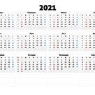 2021 Calendar Financial With Week Number - Calendar Inspiration Design