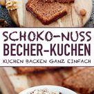 Schoko-Nuss Becherkuchen - emmikochteinfach