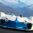 renault's alpine vision GT concept developed for gran turismo 6