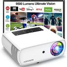 Amazon.com: HOPVISION Native 1080P Projector Full HD, 9500Lux Movie Projector with 150000 Hours LED Lamp Life, Support 4K 350