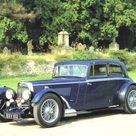 1934 Aston Martin Mark II 1500cc 2 Door Saloon Blue Fvl   Cars Wallpaper