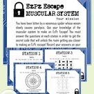 Muscular System Science Escape Room- Digital Breakout