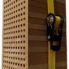 NSC Nistblock für Mauerbienen (MDF)