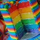 Rainbow Layer Cakes
