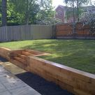 Wood retaining wall ideas – landscape designs with great visual appeal