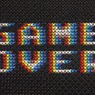 Arcade Alphabet Font Cross Stitch Pattern   Etsy