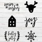 Christmas Svg Bundle, Christmas Bauble Decoration Bundle, Christmas Svg Ornaments Bundles, Christmas
