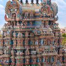 The pyramid temples of India that are a kaleidoscope of colour