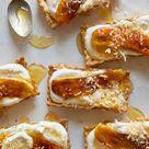 Banana, Coconut and Honey-Cream Tarts