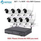 Video Surveillance Camera System Wireless CCTV Kit 1080P Ip NVR Kit Ip Camera Outdoor Security System Video Surveillance Kit - SETD 1x8 / 3T
