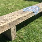 Winter Sale 7ft 8ft Huge Rustic Chunky Reclaimed Solid Oak Railway Sleeper Dining Table Garden Bench