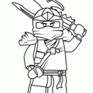 Ninjago coloring pages for kids, printable free. Lego coloring page