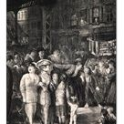 30cm Photo. The Street, 1917 (litho)