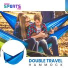 Chillax Blue - Double Travel Hammock