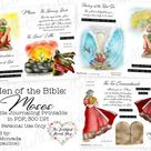 Men of the Bible: Moses. Bible Journaling/Faith Planner.   Etsy