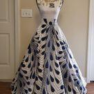 African Ankara Print Maxi High Waisted Circle Skirt Please | Etsy