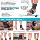 Soft AFO Drop Foot Brace   Shoe or Barefoot Dorsiflexion Assist for Neuropathy or Charcot Marie Tooth Treatment